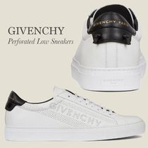 GIVENCHY(ジバンシィ) スニーカー GIVENCHY PERFORATED LOW SNEAKERS IN LEATHER