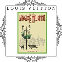 LOUIS VUITTON POSTER OF DAMIEN LANGLOIS-MEURINNE  国内直営