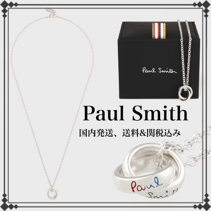 Paul Smith ネックレス・チョーカー 国内発送☆Paul Smith ポールスミス ネックレス ダブルリング