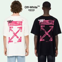 【OFF-WHITE】Stencil S/S T-Shirt アロープリント (関税送料込)