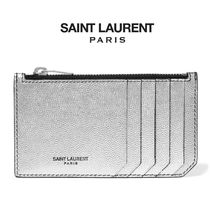 ∞∞ Saint Laurent  ∞∞ Metallic レザーカードケース☆