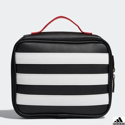 adidas メイクポーチ ADIDAS GOLF★BASIC POUCH / 2colors