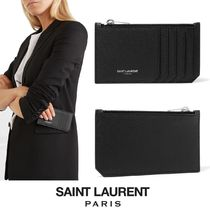 ∞∞ Saint Laurent  ∞∞ Textured レザーカードケース☆