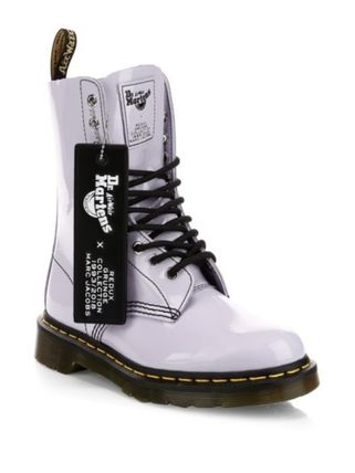 ♪Marc Jacobs Dr. Martens X Marc Jacobs エナメルレザーブーツ