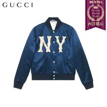 【正規品保証】GUCCI★19春夏★JACKET WITH NY YANKEES PATCH