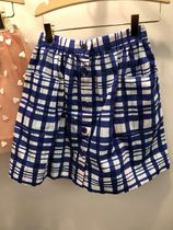 19SS【Bonpoint】Gaby スカート 6~8A (blue outremer)