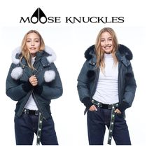 【MOOSE KNUCKLES】☆DEBBIE BOMBER(GRANITE)