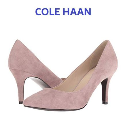セール!Cole haan Juliana 75 Pump / Twilight Maube Suede
