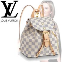 LOUIS VUITTON スペロン BB ダミエ・アズール
