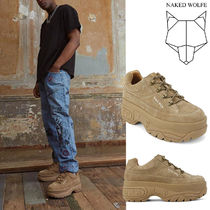 Naked Wolfe(ネイキッドウルフ) スニーカー 日本未入荷☆ Naked Wolfe   STOMPER TAUPE SUEDE スニーカー