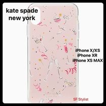 Kate spade★シャンパン柄★Champagne iPhone X/XS, XR,  XS MAX