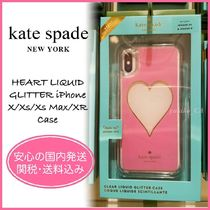 【国内発送】HEART LIQUID GLITTER iPhone X/Xs/Xs Max/XR Case