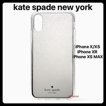 Kate spade★Mirror Ombreシルバーラメ iPhone X/XS, XR, XS MAX