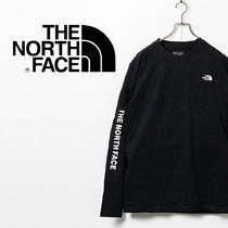 【THE NORTH FACE】Long Sleeve Printed T-shirt・black