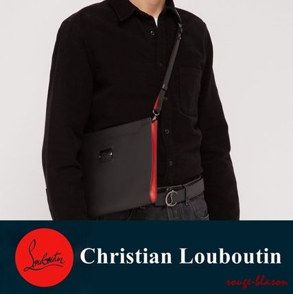 3fd5a0993f ... Christian Louboutin クラッチバッグ 【国内発送】ルブタン Skypouch Loubicity leather pouch  bag(2 ...