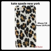 Kate spade★ヒョウ柄★豹Leopard iPhone 7/8, 7/8 PLUS