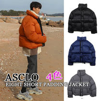 ASCLO★韓国の人気★EIGHT SHORT PADDING JACKET 4色