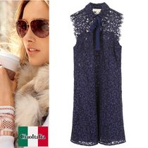 MICHAEL KORS  Lace Dress With Bow