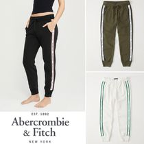 Abercrombie&Fitch*国内発送(追跡有)送関込*ロゴテープジョガー