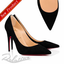 ★19SS★【Louboutin】Alminette ヴァーベロア 100㎜ パンプス