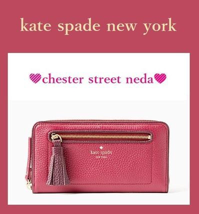new products c5325 7f2e1 ☆セール☆kate spade タッセル付き♪長財布 rioja