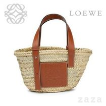 LOEWE★ロエベ Basket Small Bag Natural/Tan