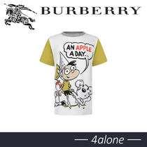 BURBERRY★KIDS★WHITE APPLE★Tシャツ