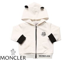 19ss☆MONCLER Baby パンダ耳パーカー(1~3歳)【関税込】