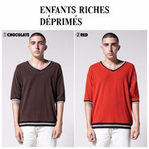 ENFANTS RICHES DEPRIMES(アンファンリッシュ) ポロシャツ 【ENFANTS RICHES DEPRIMES】大人気☆ V-Neck Polo