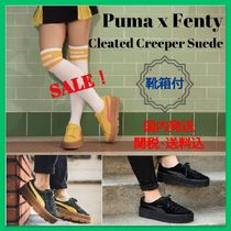 セレブ愛用【Puma x Fenty】Cleated Creeper Suede sneaker 3色