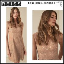 【海外限定】REISS ワンピース☆GEMINA LACE FIT AND FLARE DRES