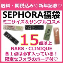 NARS&CLINIQUE確約 ミニサイズコスメ 15点以上福袋 ポーチ付