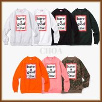 【HAVE A GOOD TIME】FRAME CREWNECK トレーナー 7色