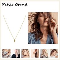 §Petite Grand§ 国内発送 しずくチャームチェーンネックレス