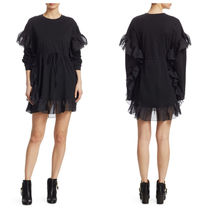 追跡有 See by Chloe Final SALE! Chiffon フリル T-Shirt Dress