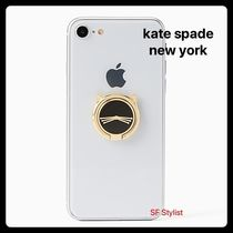 Kate spade★大人気★ねこCat Ring Standスマホバンカーリング猫