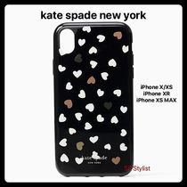 Kate spade★最新作★Heartbeatハート柄iPhone X/XS, XR, XS MAX