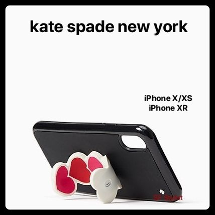 kate spade new york スマホケース・テックアクセサリー Kate spade★最新作★Ombre HeartオンブレハートiPhone X/XS, XR(3)