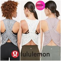 lululemon★Faster than Light Muscle Tank★重ね着を楽しんで♪