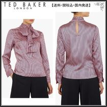 【関税込】TED BAKER ブラウス☆Leynta Stripe Tie Neck Blouse
