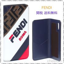 《関税・送料込》FENDIxFILA  Fendi Mania iPhone X  手帳型