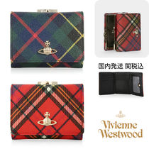 Vivienne Westwood☆DERBY SMALL FRAME WALLET タータン がま口