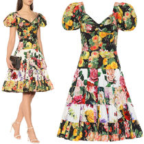 19SS DG1888 FLORAL PRINT COTTON DRESS