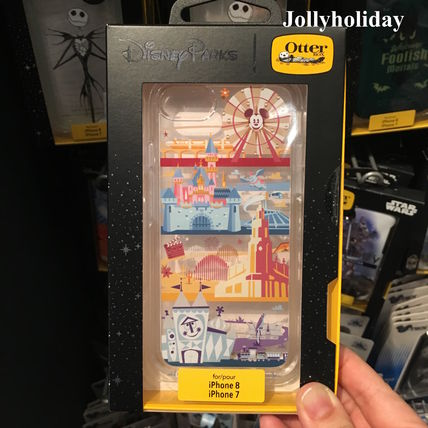 OtterBox x Disney☆Disneyland Resort柄 iPhone7/8ケース
