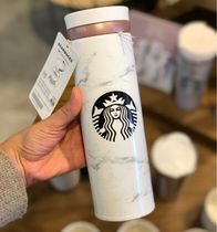 シーズンレスで愛用★Starbucks★Marble white thermos 500ml