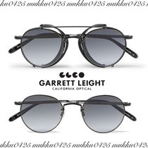 GARRETT LEIGHT CALIFORNIA OPTICAL(ギャレットレイト) サングラス GARRETT LEIGHT CALIFORNIA OPTICAL Wilson M49ラウンドフレーム