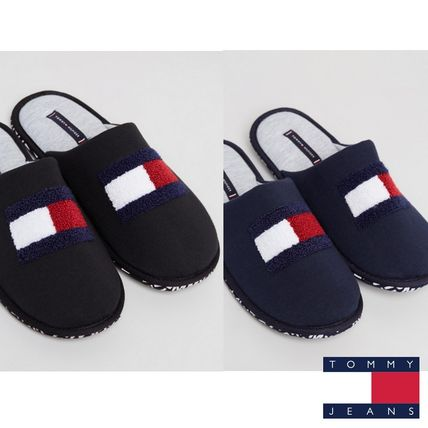 Tommy Jeans のTerry Flag Homeslippersスリッパ/2色有