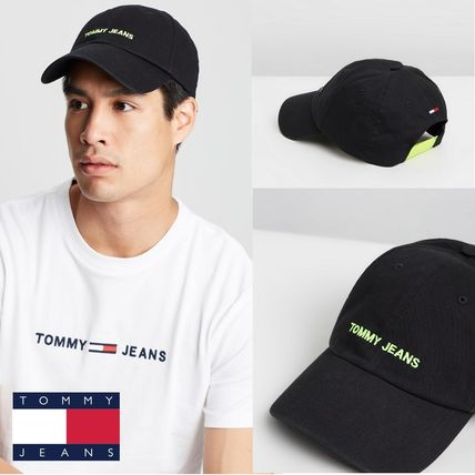 Tommy Jeans★Tommy Jeans Sportロゴフロントキャップ