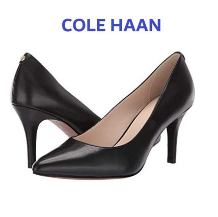 セール!Cole Haan Gemma Logo Pump / Black leather