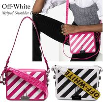 Off-White Diag Square Bag With Binder Clip